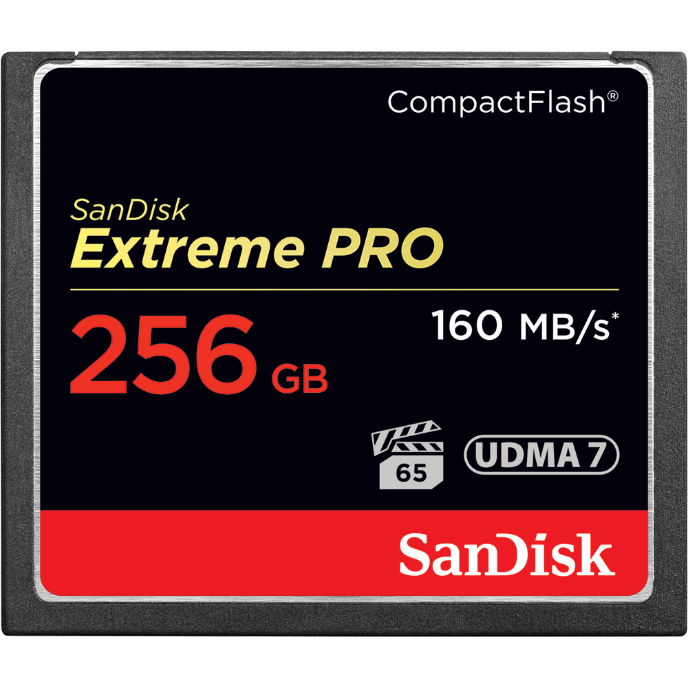 SanDisk Extreme PRO<sup>®</sup> CompactFlash<sup>®</sup> 메모리 카드